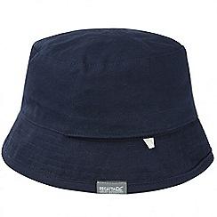 Regatta - Navy spindle canvas hat