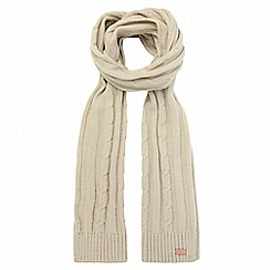 Regatta - Cream 'Multimix' knit scarf