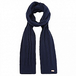 Regatta - Blue 'Multimix' knit scarf