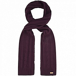 Regatta - Purple 'Multimix' knit scarf