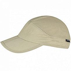 Regatta - Beige 'Folding' peak cap