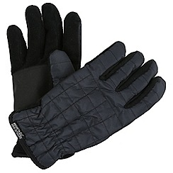 Regatta - Grey 'Quilted' gloves
