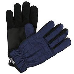 Regatta - Blue 'Quilted' gloves