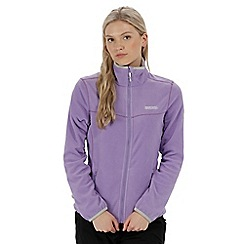 Regatta - Purple 'Floreo' fleece