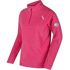 Regatta - Pink 'Montes' fleece sweater