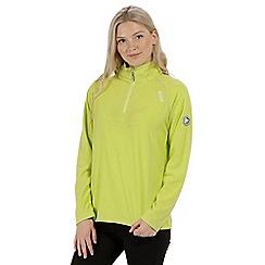 Regatta - Green 'Montes' fleece sweater