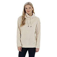 Regatta - Off white 'Hermina' fleece sweater