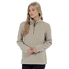 Regatta - Beige 'Solenne' fleece sweater