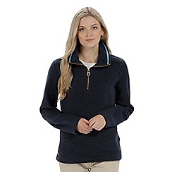 Regatta - Blue 'Solenne' fleece sweater
