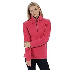 Regatta - Pink 'Solenne' fleece sweater