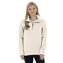Regatta - White 'Solenne' fleece sweater