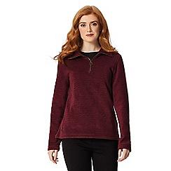 Regatta - Maroon 'Solenne' fleece sweater