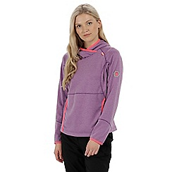 Regatta - Purple 'Montem' fleece hoody