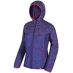 Regatta - Purple 'Rocknell' hybrid fleece