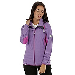Regatta - Purple 'Mons' fleece