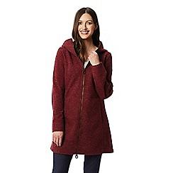 Regatta - Red 'Rashanda' hooded fleece jacket