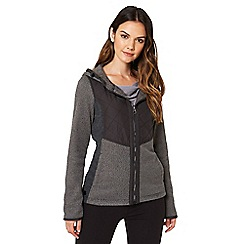 Regatta - Grey 'Zarela' hooded fleece sweater