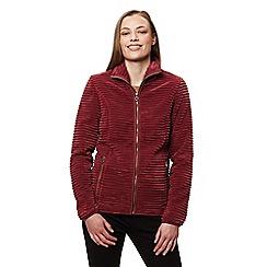 Regatta - Red 'Halima' fleece sweater