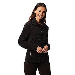 Regatta - Black 'Halima' fleece sweater