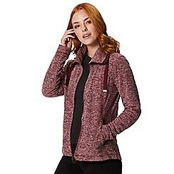 Regatta - Red 'Zabel' fleece sweater