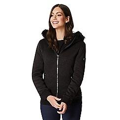 Regatta - Grey 'Rhoswen' bomber hooded jacket