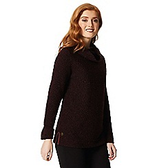 Regatta - Maroon'Quenby' fleece sweater