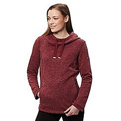 Regatta - Maroon 'Kynlee' fleece sweater