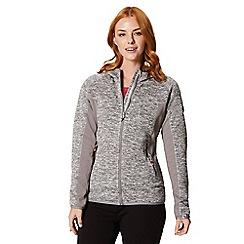Regatta - Grey 'Willowbrook' hooded fleece