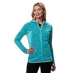 Regatta - Blue 'Willowbrook' hooded fleece