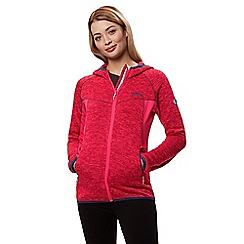Regatta - Pink 'Willowbrook' hooded fleece
