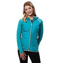 Regatta - Blue 'Pendan' hybrid hooded jacket