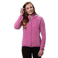 Regatta - Purple 'Luzon' hooded fleece