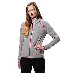 Regatta - Grey 'Luzon' hooded fleece