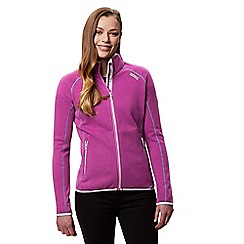 Regatta - Purple 'Torrens' fleece jacket