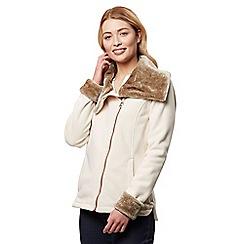 Regatta - Beige 'Balencia' winter fleece jacket