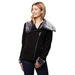 Regatta - Black 'Balencia' winter fleece jacket