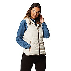 Regatta - Cream 'Winika' quilted bodywarmer