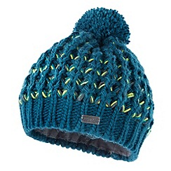 Regatta - Teal Arktik bobble hat