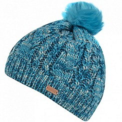 Regatta - Blue 'Frosty' pom pom hat