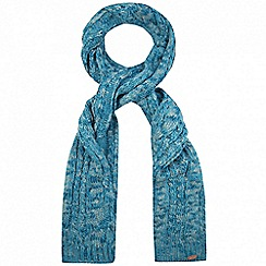 Regatta - Blue 'Frosty' knit scarf