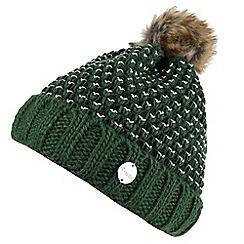 071991aadcdd3 Regatta - Green  Lovella  bobble hat