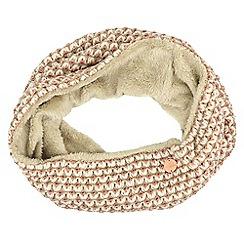 Regatta - Cream 'Harleth' knit snood