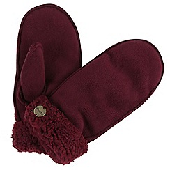 Regatta - Red 'Corbina' hat and mitt set