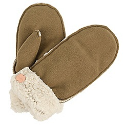 Regatta - Beige 'Corbina' hat and mitt set