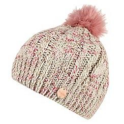 Regatta - Cream 'Frosty' knit hat