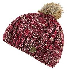 Regatta - Maroon 'Frosty' knit hat