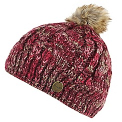 Regatta - Maroon 'Frosty' knit hat