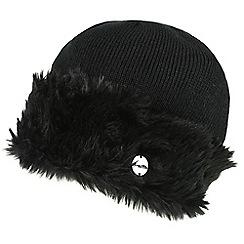 Regatta - Black 'Luz' knit hat
