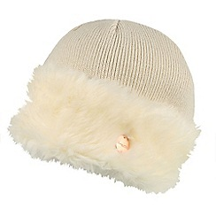 Regatta - Cream 'Luz' knit hat