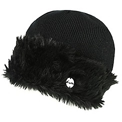 Regatta - Black 'Luz' knit hat
